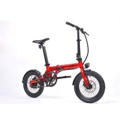 E-Bike Eovolt 36V 6.4Ah Bordfahrrad Klapprad rot