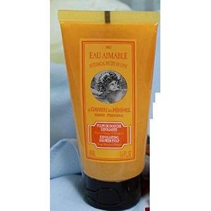 Le Couvent des Minimes Eau Aimable with Orange Blossom & Petitgrain - Exfoliating Shower Pulp Inhalt: 50ml Duschpeeling