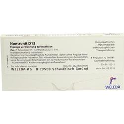 NONTRONIT D 15 Ampullen 8 ml
