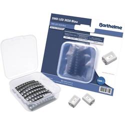Barthelme SMD-LED-Set 3020 Blau 300 mcd 120° 20mA 3V 100 St. Bulk
