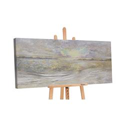 YS-Art Gemälde Meer Dämmerung PS028