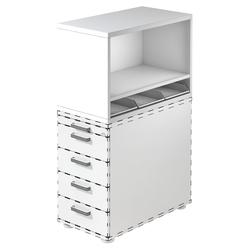 SIGNA SCA1 - Rollcontainer Weiß