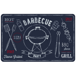 d-c-table® Tischset Rio Barbecue 44 x 29 cm, schiefer