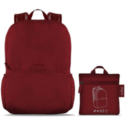 Puro Rucksack Puro Backpack Tender Faltbarer Rucksack Falt-Rucksack Sport Outdoor Camping, sehr leicht rot