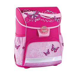Schulranzenset Schmetterling pink, 4-tlg.