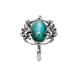 Adelia´s Amulett Cabochon Talisman, Forest Unicorn Cabochon