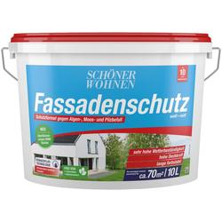 SCHÖNER WOHNEN-Kollektion Fassadenfarbe Fassadenschutz 10 l, hoch wetterbeständig und wasserabweisend