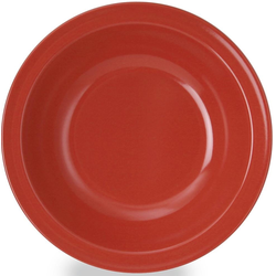 WACA Suppenteller, (Set, 4 St.), Melamin, Ø 20,5 cm rot Teller Geschirr, Porzellan Tischaccessoires Haushaltswaren Suppenteller