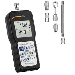 PCE Instruments Luftdruckmessgerät PCE Kraftmessgerät Dynamometer Zug- und Druckkraft PCE-FM 50N