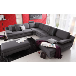 Musterring Wohnlandschaft MR 360 in dark-grey