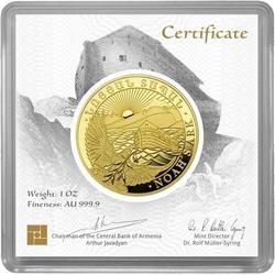 1 Unze Gold Armenien Arche Noah 2020