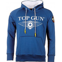 Top Gun Destroyer Kapuzenpullover Herren - Blau - XL