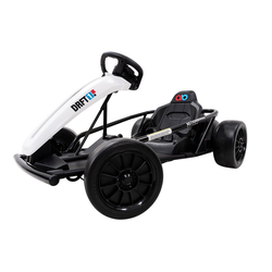 Actionbikes Motors Go-Kart GoKart, Belastbarkeit 70,00 kg, EVA-Weichgummireifen vorne, Hartgummireifen hinten weiß