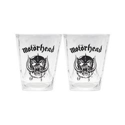 Motörhead Gläser-Set MOTÖRHEAD WHISKYGLÄSER 2-ER SET BORN TO LOSE LIVE TO WIN NEU TOP