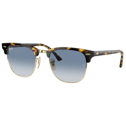 RAY BAN Sonnenbrille CLUBMASTER RB3016 gelb L