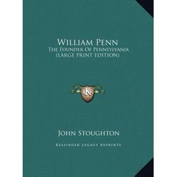 William Penn als Buch von John Stoughton
