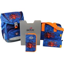 DerDieDas® Schulrucksack ErgoFlex - Deep Sea (Set)