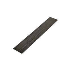 neu.haus Einlegeboden (16 Stück), Mons Vinyl Klebelaminat Dielen Bodenbelag ca. 4 m² schwarz