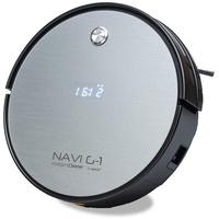 SOGO Human Technology Navi-G-1 Reinigungsroboter Schwarz/Silber Beutellos, Startzeit programmierbar,