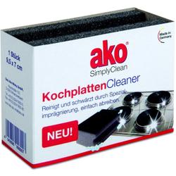 ako® Kochplatten Cleaner Schwamm, Zur Reinigung und Schwärzung der Kochplatten, 1 Packung = 1 Stück
