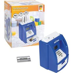 Idena Spardose Geldautomat digitale Spardose Sound, blau