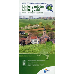 Limburg-midden Limburg zuid (Maastricht / Weert / Roermond) 1:100 000