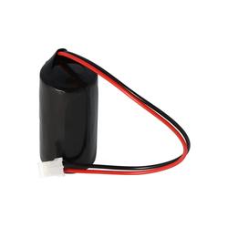 AccuCell Batterie passend für Q6BAT mit Kabel und weißem St Batterie