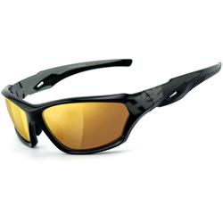 HSE SportEyes 2093 Sunglasses, gold, Größe One Size