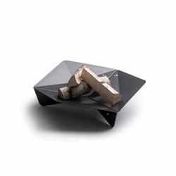 höfats Triple 65 Feuerschale - Corten-Stahl Ø 65cm Schwarz