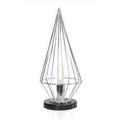 Globen Lighting Tischlampe Keops Chrom