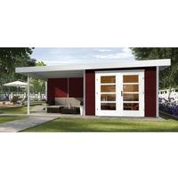 weka Designhaus 126 B 5,90 x 3,00 m rot