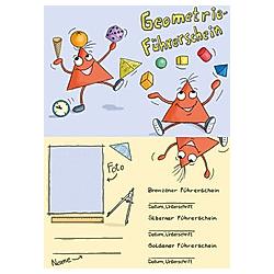 Der Geometrie-Führerschein - Klassensatz Führerscheine. Bernd Wehren  - Buch
