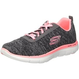 SKECHERS Flex Appeal 2.0 dark grey-rose/ white, 36
