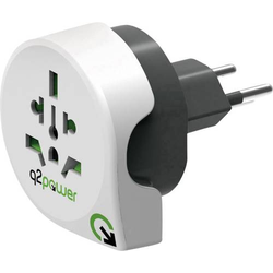 Q2 Power 1.100200 Reiseadapter