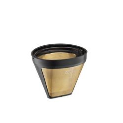 Cilio Filterkaffeemaschine Kaffeefilter Größe 4 goldfarben