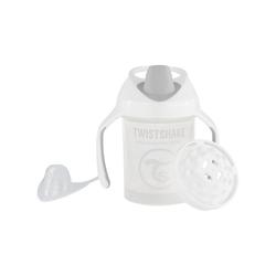 Twistshake Babyflasche Mini Cup Babyflasche, 230ml, pink weiß
