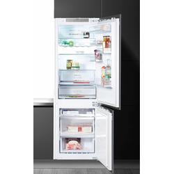 Samsung Einbaukühlgefrierkombination, 177,5 cm hoch, 54,5 cm breit, Kühlgefrierkombinationen, 333460-0 weiß weiß