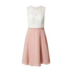 mascara Damen Kleid rosé / elfenbein, Größe 34, 4818876
