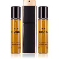 Chanel N° 5 Eau de Parfum refillable 20 ml + Eau de Parfum Nachfüllung 2 x 20 ml
