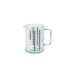 SIMAX Messbecher SIMAX Glas Messbecher mit Henkel 1,0 l, Glas