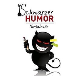 Schwarzer Humor - Notizbuch - Buch
