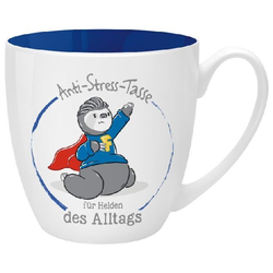 Anti-Stress Tasse für Helden des Alltags