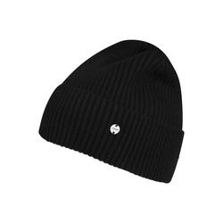ESPRIT Damen Mütze 'Beanie' schwarz, Größe One Size, 4992404