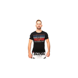 8 WEAPONS T-Shirt - Thaiboxing black (Größe: M)