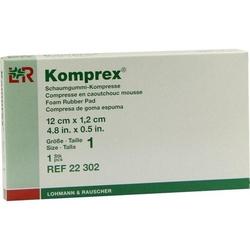 KOMPREX Schaumgummi Kompr.Gr.1 nierenf. 1 St