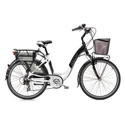 Elektrisches Fahrrad mit Tretunterstützung h12107