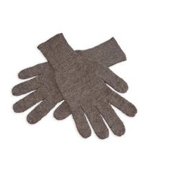 Posh Gear Strickhandschuhe Guantino Alpaka Fingerhandschuhe aus 100% Alpakawolle grau M