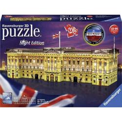 Buckingham Palace bei Nacht 3D Puzzle