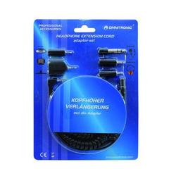Omnitronic Klinken Adapter [1x Klinkenstecker 3.5mm - 1x Klinkenstecker 6.35 mm, Klinkenstecker 2.5