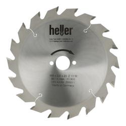 Heller Tischkreissägeblatt 160 x 2,2 x 20 x 4 x TF neg